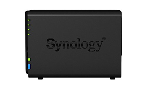 Synology DS218 + 6TB (2 x 3TB WD RED) 2 Bay Desktop-NAS-Einheit - 5