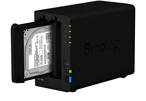 Synology DS218 + 6TB (2 x 3TB WD RED) 2 Bay Desktop-NAS-Einheit - 7