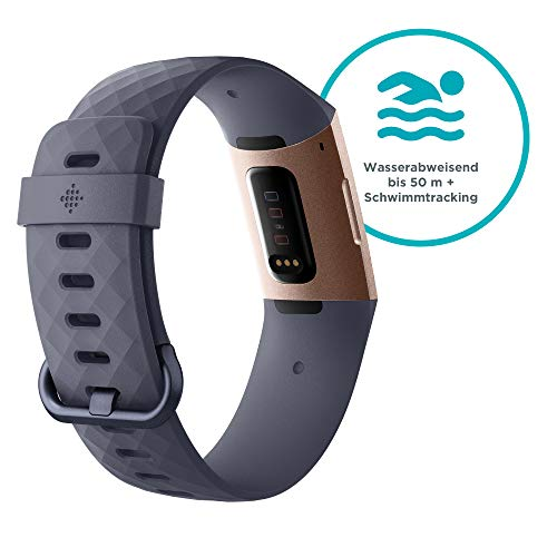 Fitbit Unisex-Adult Charge 3 - 2